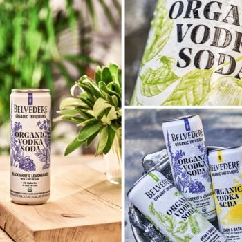 Belvedere launches Organic Vodka Soda RTD
